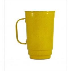Caneca 101-S 750 ml amarelo. Cód. 4417