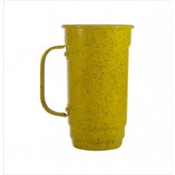 Caneca 103-S 500 ml amarelo. Cód. 4357
