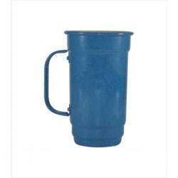 Caneca 103-S 500 ml azul. Cód. 4358