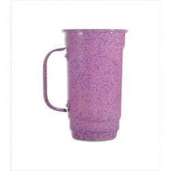 Caneca 103-S 500 ml rosa. Cód. 4360