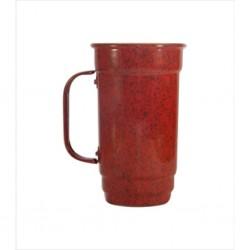 Caneca 103-S 500 ml vermelha. Cód. 4361