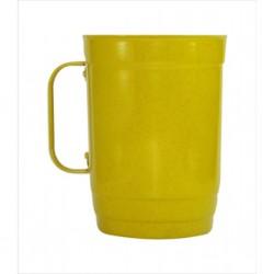 Caneca 110-D 1 litro amarelo. Cód. 4536